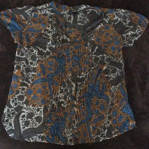 Gap medium short sleeved blouse
